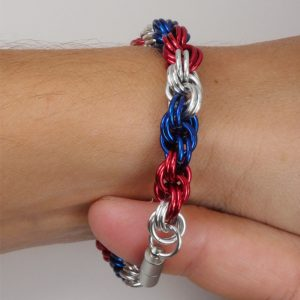 Example of snug bracelet fit