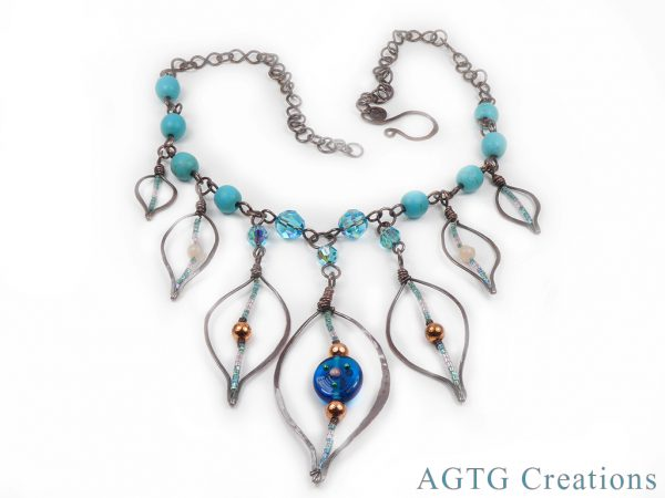 Falling Leaves Necklace