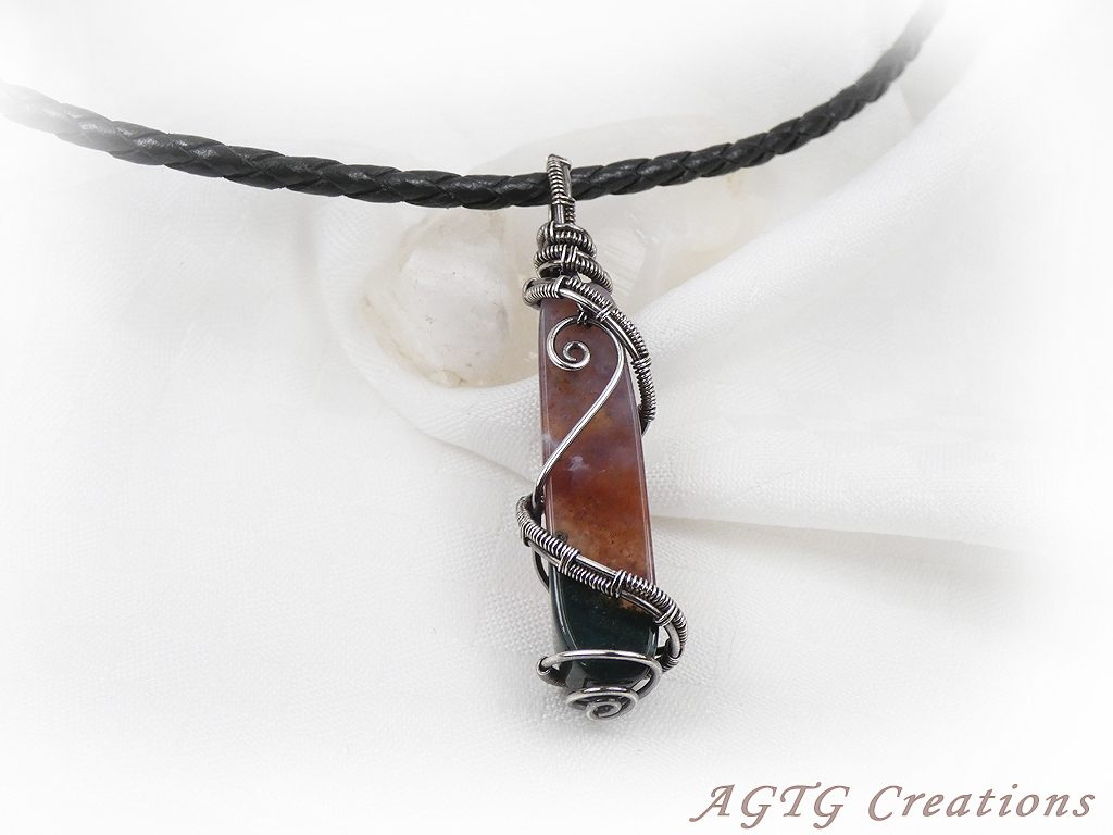 Sterling Silver Wirework pendant