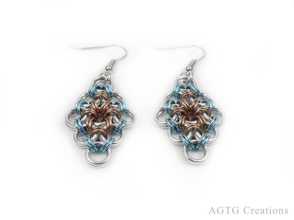 Japanese Lace Earrings