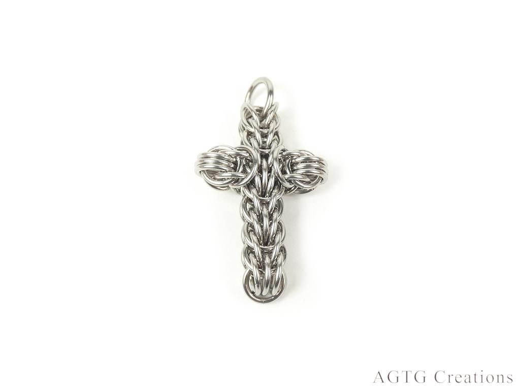 Cross pendant Stainless Steel